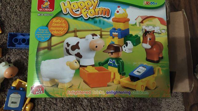 Конструктор Lego ферма, аналог