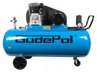 Sprężarka / Kompresor Olejowy 10 Bar 200l GUDEPOL 3KW/400V
