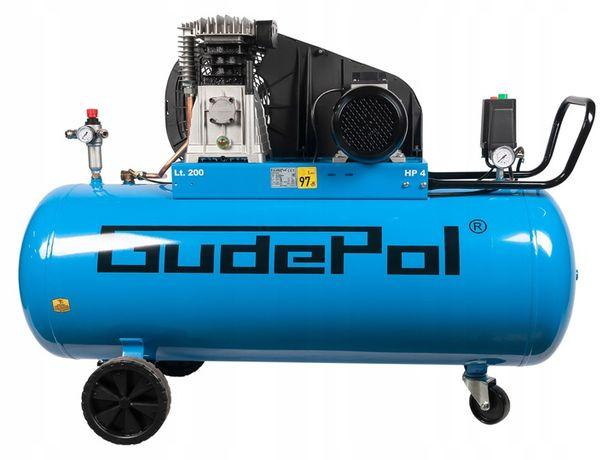 Kompresor Olejowy 10 Bar 200l GD38/200/475 GUDEPOL 3KW/400V