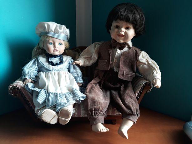 Lalki Porcelanowe 11 sztuk