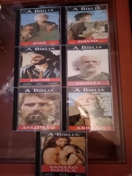 filmes da BIBLIA de coleção antigos 7 capitulos