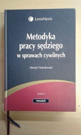 """""""Metodyka pracy sędziego w sprawach cywilnych komentarz"""" Pietrzkowski"""