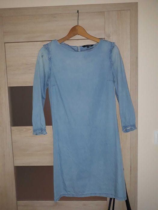 Sukienka niebieska Środa Wielkopolska - image 1