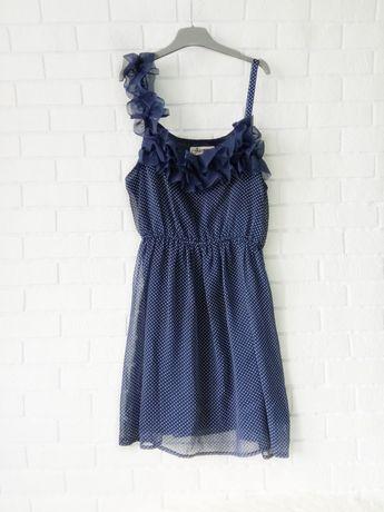 Красивое платье в горошек