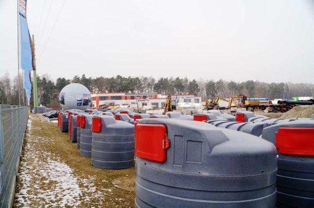 MIASTKO Zbiornik na paliwo dwupłaszczowy 5000l ECO-Line SWIMER
