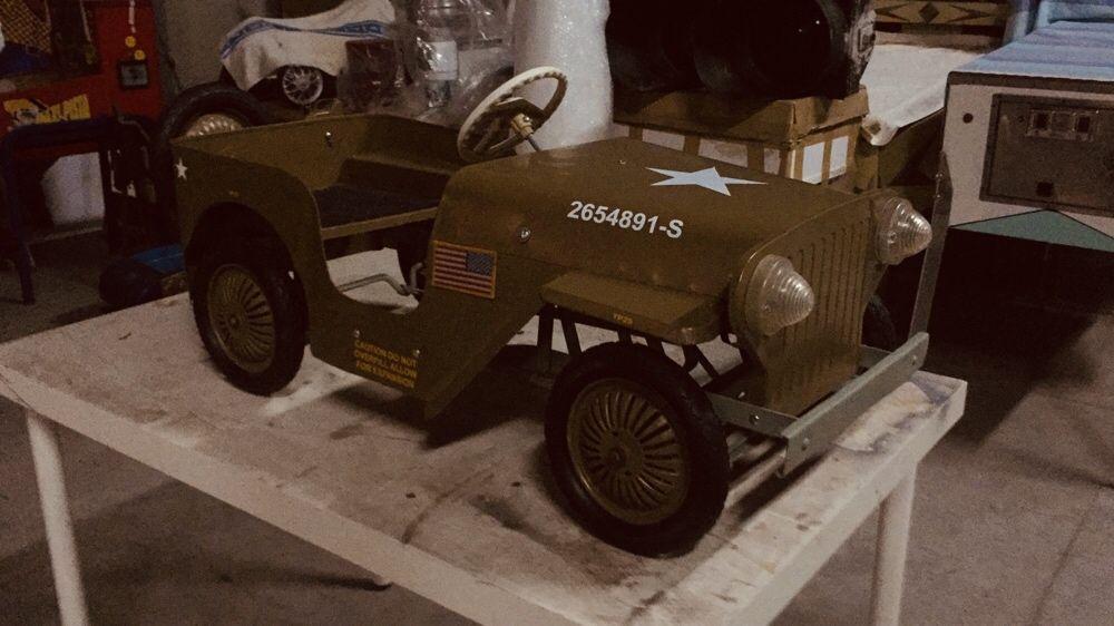 Jeep pedais. Willys. USA. 1950 Miranda do Douro - imagem 1