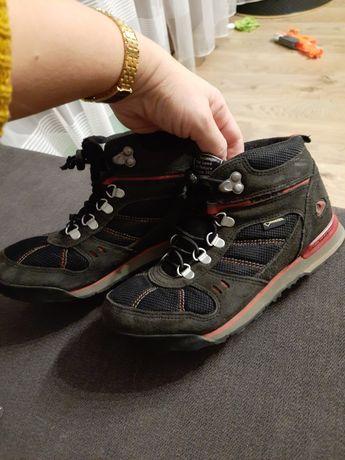 Buty chłopięce ecco viking 35 zimowe skóra heel stabilizer