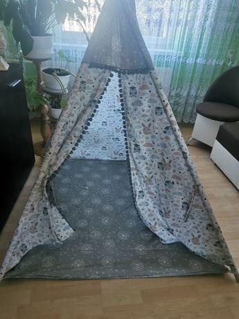 Namiot tipi uniwersalny dla chłopca dla dziewczynki duzy