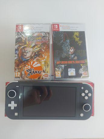 Vendo consola Nintendo Switch Lite com 2 jogos novos