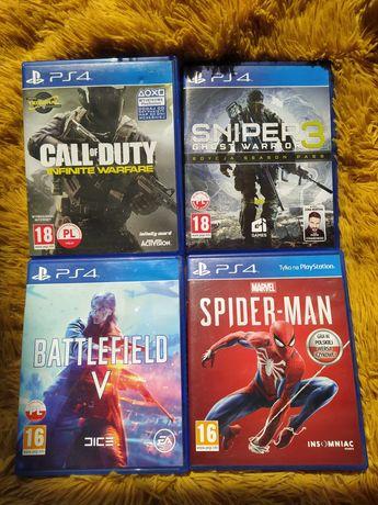 Battlefield 5 Call of Duty 40zł - 1szt. Gry na konsolę PlayStation 4