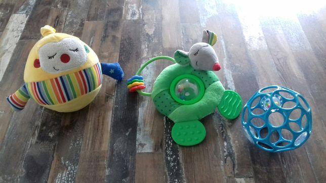 Zabawki ze Smyka oball, grzechotka, zawieszka