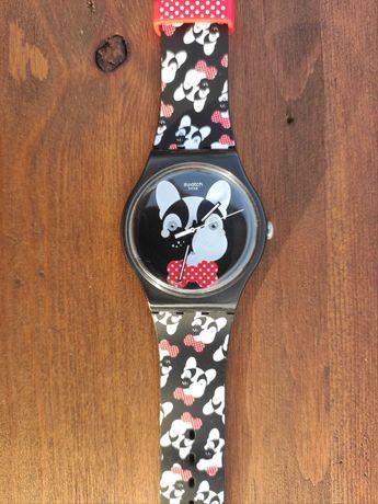 Relógio Swatch Bulldog Francês