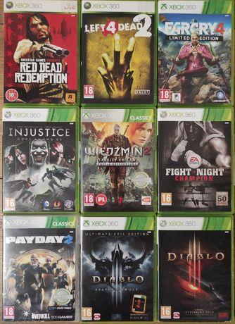 Gry Xbox 360 Diablo Farcry Left 4 Dead Wiedźmin Red dead redemption