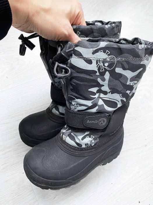 Зимние детские сапоги Kamik - 11US, 29 размер Киев - изображение 1