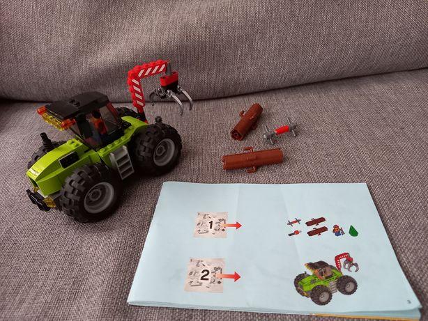 Lego city traktor leśny 60181
