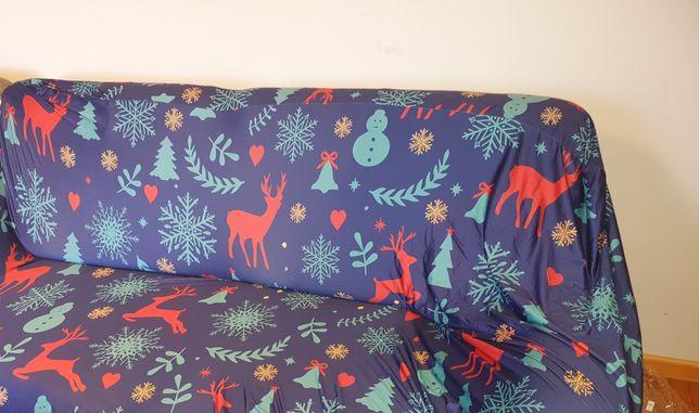 Dekoracyjna narzuta na kanapę
