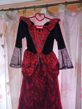 Платье ведьмы, колдуньи, волшебницы на Хеллоуин