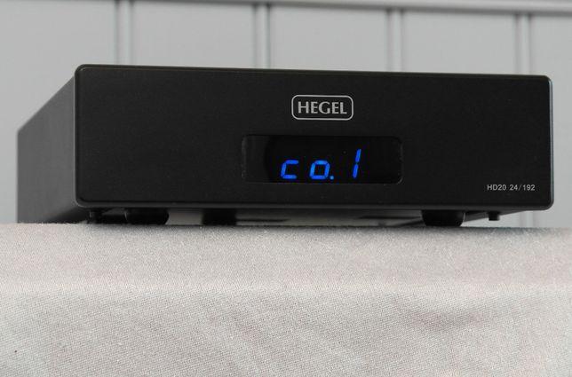 HEGEL DAC HD20 zestaw pudelko pilot Okazja!! //LEXOR TRADE//