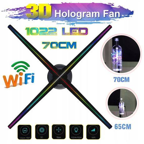 nowoczesna forma REKLAMY HOLOGRAM 3d 1022LED