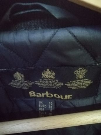 Płaszczyk Barbour S woskowana bawełna