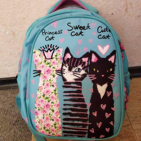 Школьный рюкзак, портфель Kite Junior 20,4л+ мешок для сменной обуви.
