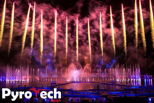 PyroMusicale od PyroTech SHOW - pokazy fajerwerków do muzyki - POLSKA