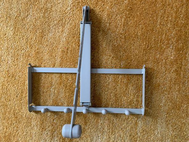 IKEA KOMPLEMENT Wieszaki pantografowy i na krawaty do szafy PAX 50cm