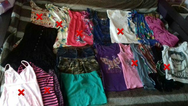Большой пакет женской одежды,пакет жіночих речей,женские вещи комплект