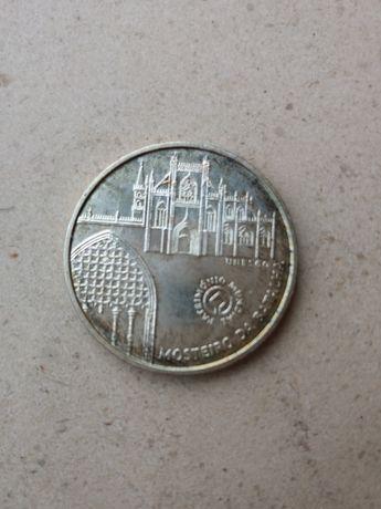 Moeda 5 Euros Mosteiro da Batalha