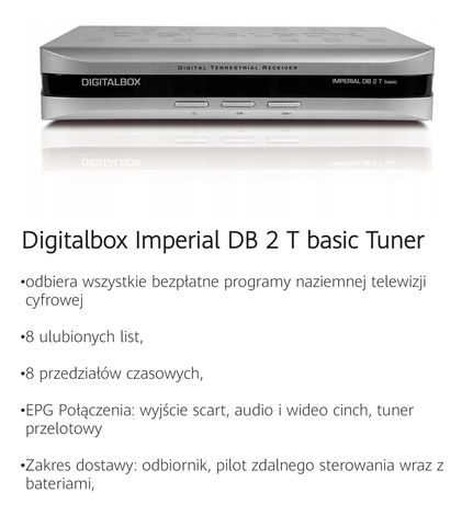 Digitalbox Imperial DB 2 T basic Tuner