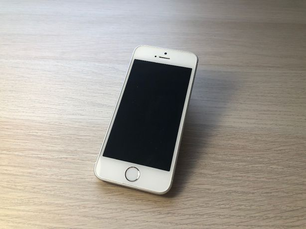 iPhone SE Silver 16GB - bardzo dobry stan