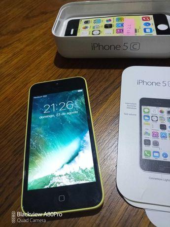 iPhone 5c usado bom estado sem marcas de uso