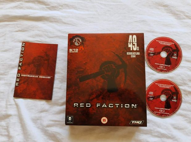 Red Faction PC Big Box  PL