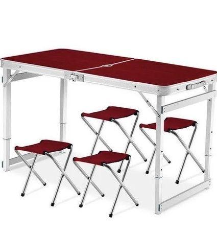 Хит сезона! Усиленный стол для пикника   Стол и 4 стула  Стол +4 стула
