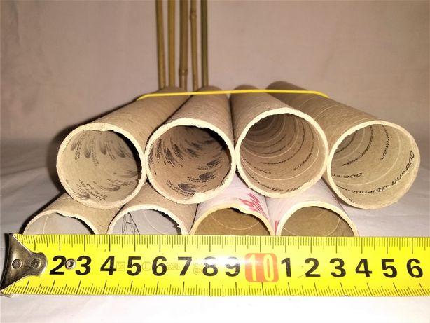 тубус втулка шпулька картонная для поделок и рукоделия