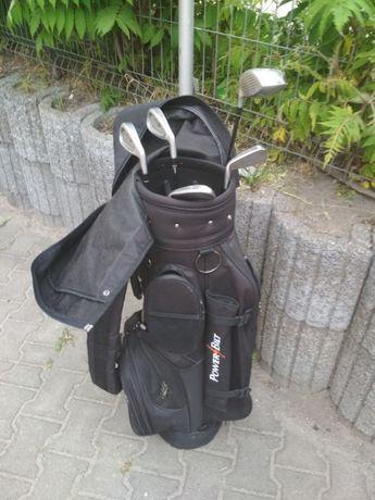 Kije golfowe + torba i piłki