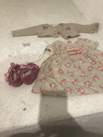 Conjunto Mayoral menina 1-2 m com sandálias Mayoral 16