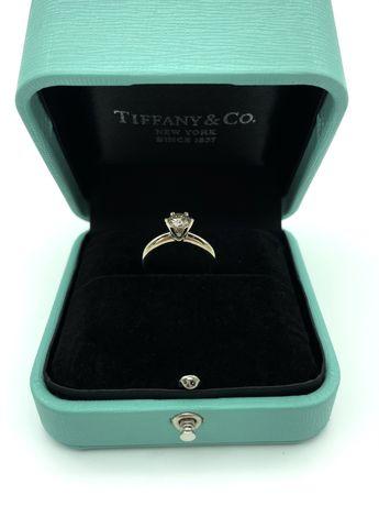 Кольцо Белое Золото Tiffany 0,70t