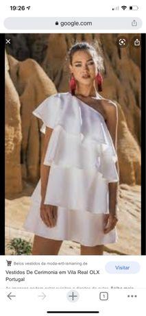 Vestido branco Kaoa.. usado uma vez