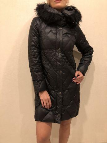 Пуховое пальто RoccoBarocco