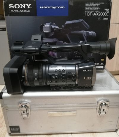 Kamera Full HD Sony HDR Ax2000e 3CCD