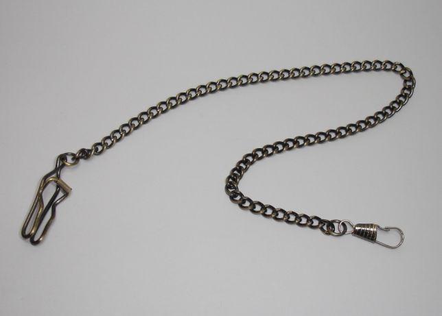 Corrente de Relógio de bolso 100%Nova-Bronze-Oferta de portes