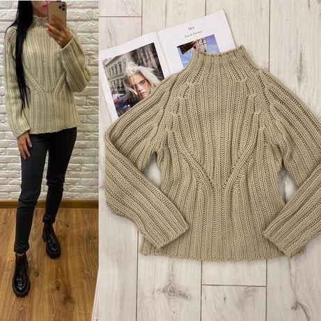 Стильный свитер М
