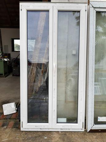 Drzwi balkonowe tarasowe 110x212 Niemieckie dowóz