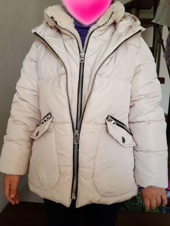 Zara куртка пуховая