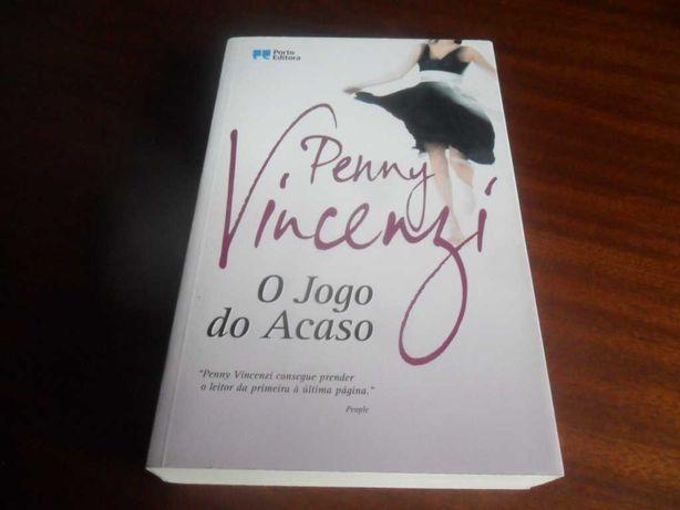 """""""O Jogo do Acaso"""" de Penny Vincenzi - 1ª Edição de 2010"""