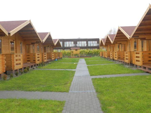 Domki letniskowe w Dąbkach nad morzem i jeziorem
