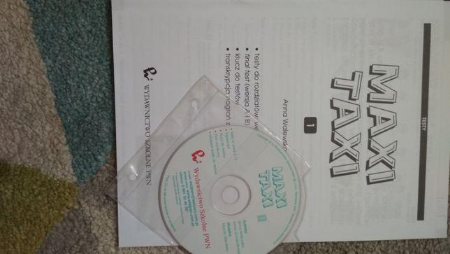 Testy Maxi Taxi 1 i Starter, wersja papierowa i elektroniczna nagrania