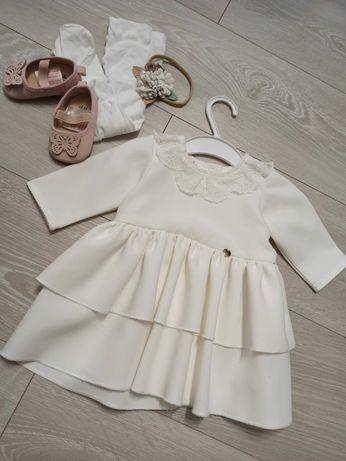 Sukienka Lili do Chrztu LaMere r. 62