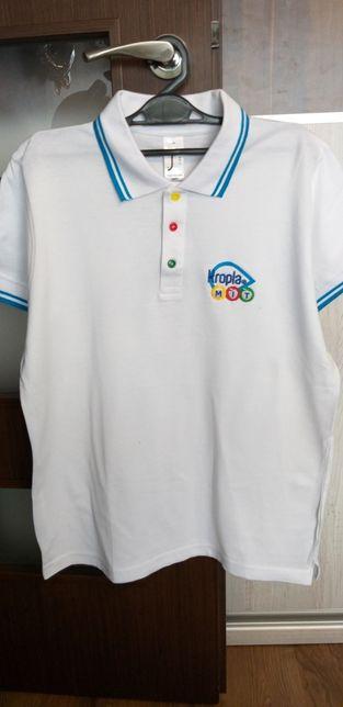 Polówka koszulka polo r.M kropla beskidu coca cola